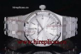 1:1 Audemars Piguet Royal Oak 15450ST.OO.1256ST.01D Clone AP Calibre 3120 Automatic Steel White Dial (J12)
