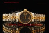 Rolex Datejust 26mm Ladies 179173 bkdrj Swiss ETA 2671 Automatic Two Tone Grey Dial