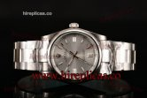 Rolex Air King 114200 sso Swiss ETA 2836 Automatic Steel Silver Dial
