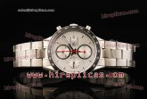 Tag Heuer Carrera Calibre 16 Chrono CV2017.BA0786 Swiss Valjoux 7750 Automatic Steel White Dial