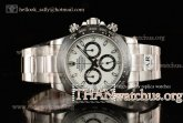 1:1 Rolex Cosmograph Daytona 116500 Clone Rolex 4130 Automatic Steel White Dial (AR)