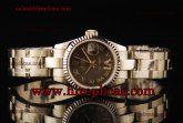 Rolex Datejust 26mm Ladies 179174 grdro Swiss ETA 2671 Automatic Steel Grey Dial