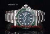 1:1 Rolex Submariner 116610LV Swiss ETA 2836 Automatic Steel Green Dial (J12)