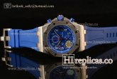1:1 Audemars Piguet Royal Oak Offshore Chrono 26470ST.OO.A030CA.01 3126 Auto Steel Blue Dial (JF)