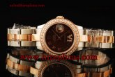 Rolex Datejust 26mm Ladies 179171D brdro Swiss ETA 2671 Automatic Two Tone/Diamond Brown Dial