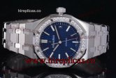 1:1 Audemars Piguet Royal Oak 15451ST.ZZ.1256ST.01L Clone AP Calibre 3120 Automatic Steel Blue Dial (J12)