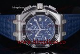 1:1 Audemars Piguet Royal Oak Offshore Juan Pablo Montoya 26030RO.OO.D001IN.01 Swiss Valjoux 7750 Automatic Steel Blue Dial (J12)