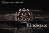 1:1 Hublot Big Bang Unico Chrono 411.CI.1110.RXCFD Swiss Valjoux 7750 Automatic PVD Skeleton Dial