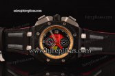 Audemars Piguet Grande Prix Chrono 26290IO.OO.A001VE.01 Swiss Valjoux 7750-CHG Automatic PVD Red Dial