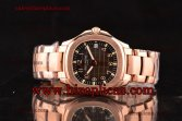 Patek Philippe Aquanaut 5167R-RG Asia 4813 Automatic Rose Gold Coffee Dial