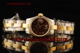 Rolex Datejust 26mm Ladies 179173 brdro Swiss ETA 2671 Automatic Two Tone Brown Dial