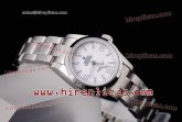 Rolex Explorer 114250 w Automatic Steel White Dial Ladies Size