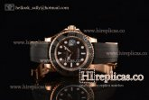 1:1 Rolex Yachtmaster 40 M116655-0001 3135 Automatic Rose Gold Black Dial (EF)