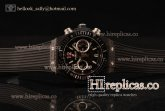 1:1 Hublot Big Bang Unico Chrono 411.CI.1110.RXCFBD Swiss Valjoux 7750 Automatic PVD Skeleton Dial
