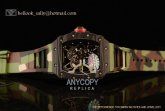 1:1 Richard Mille RM35-02 Japanese Miyota 9015 Automatic Carbon Fiber Skeleton Dial(KV)