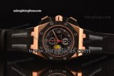 Audemars Piguet Grande Prix Chrono 26290RO.OO.A001VE.01 Swiss Valjoux 7750-CHG Automatic Rose Gold Black Dial