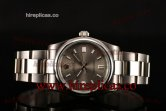 Rolex Air King 114200 grso Swiss ETA 2836 Automatic Steel Grey Dial